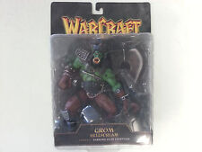 Grom Hellscream Warcraft 3 Reign of Chaos Figure Warsong Clan Chieftain TOY  WoW