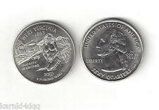 WEST VIRGINIA NUDE SEXY BUSTY GIRL WOMAN LADY STATE QUARTER NOVELTY COIN TOKEN
