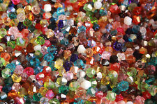 Free shipping 100pcs 4/6mm crystal 5301 Bicone Beads (43 color)