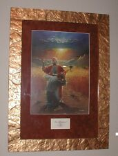 RON DICIANNI THE PRODIGAL SON -CHRISTIAN- ITALIAN GOLD MOLDING - RUST SUEDE MAT