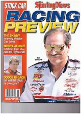 DALE EARNHARDT SR SPORTING NEWS RACING PREVIEW APRIL 2001