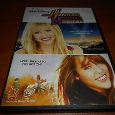 Hannah Montana The Movie (DVD, 2009) Miley Cyrus, Billy Ray Cyrus Used Disney