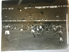 photo press football   World Cup 1958  1/2 Finale Brazil France             146