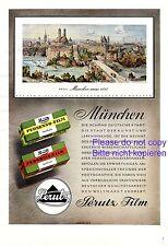 Perutz Film München XL Reklame 1942 Filmpapier Skell 1884 Antihalo Werbung