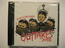 OUTTAKES 2005 - CD - GO KART RECORDS SAMPLER - BAMBIX TEN FOOT POLE JUPITER JONE