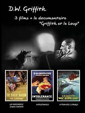 4 DVD Box D.W. Griffith Birth of a Nation Intolerance Way Down East / IMPORT