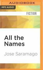 All the Names by Josè Saramago (2016, MP3 CD, Unabridged)