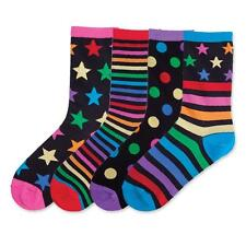 K Bell MIX IT UP COLORFUL *2 PAIR* Ladies SOCKS 61697 ASSORTED FREE US SHIPPING