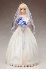 Fate/Stay Night 10th Anniversary Saber Royal Wedding Dress Figure - NIB New 9.8""