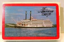 The American Queen Steamboat Ship Custom Playing Cards Deck river mississippi