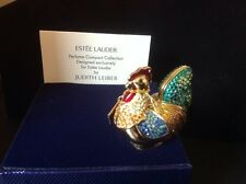 Estee Lauder Intuition Bejeweled Rooster Compact for Solid Perfume 2004 in box