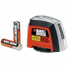 Black & Decker BDL220S Laser Level 360deg Rotating Wall Attachment Projects New