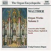Walther - Organ Works, Volume 2, Hofmann, Carl Christian, Cramer,, Very Good Con