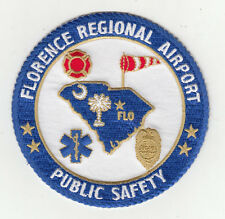 SC Florence Regional Airport Public Safety Patch