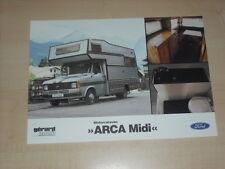 63831) Ford Transit Gerard mobil Arca Midi Prospekt 02/1981