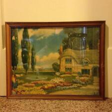 "Vintage R Atkinson Fox Cottage Print Vintage Frame 19 1/2"" x 15 1/2"""