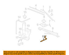 GM OEM Wiper Washer-Windshield-Tube 12463086