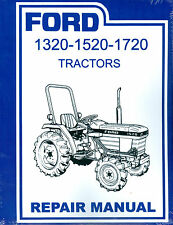 1320 1520 1720  FORD DIESEL TRACTOR SHOP MANUAL-OVER 400 PAGES