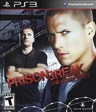 Prison Break: The Conspiracy -- Sony PlayStation 3 PS3 -- GREAT CONDITION