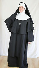 Authentic Looking 7 Piece Nun Costume Small/Medium  New