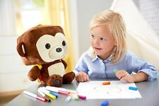 Fisher-Price Smart Toy Monkey  Interactive Learning Friend  Brains of a computer