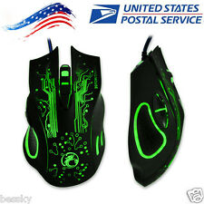 2400DPI LED Optical 6D USB Wired Gaming Game Mouse Pro Gamer Mice For PC Laptop