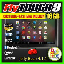 TABLET PC 10 .1 POLLICI ANDROID 4.1 CAPACITIVO 3G JELLY BEAN FLYTOUCH9