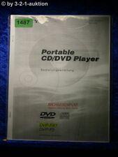 Sony Bedienungsanleitung DVP Fx1 / F5 Portable CD/DVD Player (#1487)