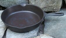 """Vintage 10.5"""" Cast Iron Cooking Skillet #8 Made in the USA  """"A"""""""