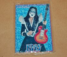 KISS Ace Frehley METAL CARD SEALED COLLECTIBLE RARE TOY ARGENTINA