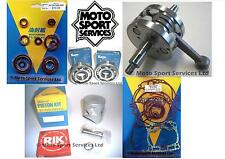 KX 125 03-08 Mitaka Engine Rebuild Kit Crank Piston (C) Mains Gasket & Seal Kit