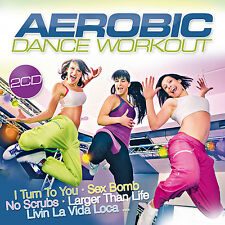 CD Aerobic Dance Workout von Various Artists 2CDs