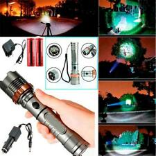 2000LM CREE XM-L T6 LED Ricaricabile Torcia Zoom torcia + 2x 18650 + Caricatore