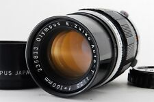 【Exce++++】OLYMPUS E.Zuiko Auto-T 100mm F/3.5 for Pen F FT from JAPAN #212