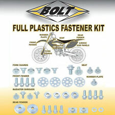 YAMAHA  YZ 125  YZ 250   2002 - 2014   FULL PLASTICS FASTENER NUT BOLT KIT