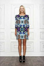 Anthropologie NWT Leifsdottir Diamond Crush Silk Andromeda Dress M 10 $358