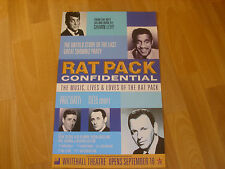 RAT PACK Confidential Based on Shawn Levy Book WHITEHALL Theatre Original Poster