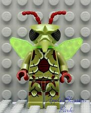 NEW Lego Galaxy Squad MOSQUITOID MINIFIG Alien Insect Figure w/Green Wings 70709