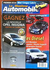 Le moniteur Automobile 18/02/2009; Essais 7 familiales Diesel/ Infiniti EX 37