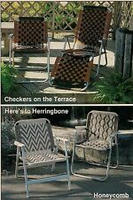 BOOK ONLY #7516 Furniture Fan-Fare I - Macrame Chair Classic Checkers Pattern