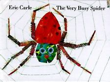 The Very Busy Spider -Miniature version book. by Carle, Eric