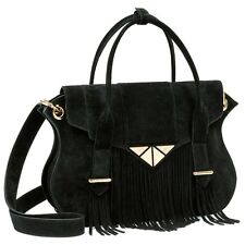 Brand new suede leather bag with fringes