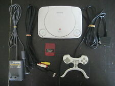 Console PlayStation 1 Slim - SCPH-102 - System Play Station One PS1 - Sony PAL
