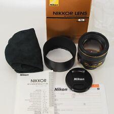 Nikon AF-S Nikkor 85mm f/1,4G Nano // neuwertig // komplett // vom Fotohändler