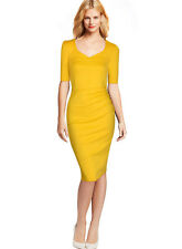 Women's Ladies Bodycon Business Party Evening Cocktail Long Midi Pencil Dress