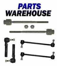 6Pc New Sway Bar Tie Rod End Set - Chevy Malibu/Pontiac G6/Saturn Aura 2004-2011