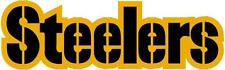 PITTSBURGH STEELERS 2 Color Logo Car Window WALL DECAL * Vinyl Car STICKER