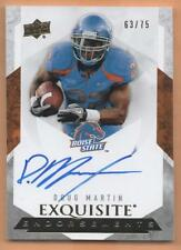 2012 Exquisite Doug Martin Rookie RC Auto 63/75 Boise State **HOT**