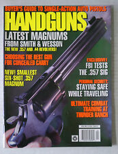 HANDSGUNS FIRE ARMS AMMO WEAPONS RIFLES MAGAZINE 9MM .45 1996 APRIL MAGNUMS