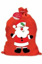 Large Red Father Christmas Xmas Santa Sack Gift Presents Bag Stocking Toy Tree